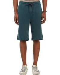 James Perse French Terry Vintage Shorts - Lyst