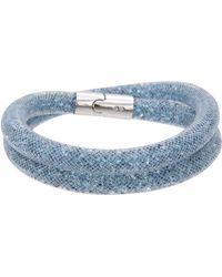 Swarovski - Stardust Double Bracelet - Lyst