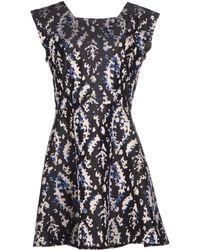 Theyskens' Theory Short Dress - Lyst