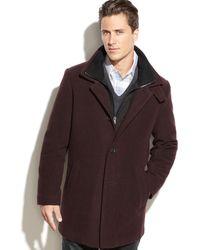 Calvin Klein Coleman Woolblend Overcoat - Lyst