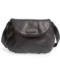 Marc By Marc Jacobs New Q - Perforated Natasha Cross-Body Bag - Lyst