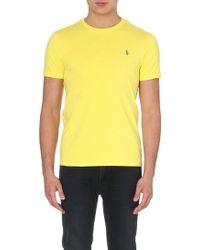 Ralph Lauren Custom-Fit Logo T-Shirt - For Men - Lyst