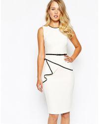 Coast - Shelly Tipped Dress - Lyst