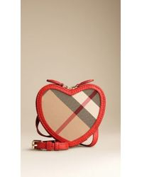 Burberry Exploded Check Crossbody Bag - Lyst