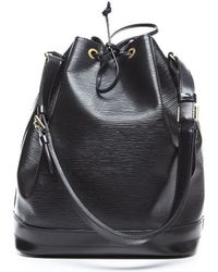 Louis Vuitton | Pre-owned Black Epi Leather Noe Bag | Lyst