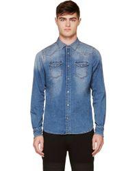 Diesel Blue Faded Sonora_ne Jogg Jean Shirt - Lyst