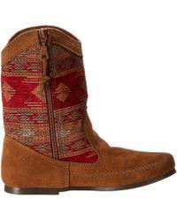 Minnetonka Red Baja Boot - Lyst