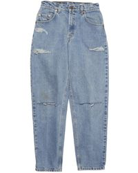 Denim Refinery Vintage Levis The Double Slit Boyfriend Jeans - Lyst