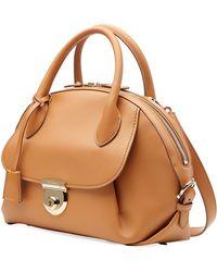 Ferragamo Fiamma Medium Leather Shoulder Bag - Lyst