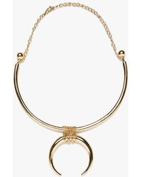Need Supply Co. - Gold Tusk Necklace - Lyst