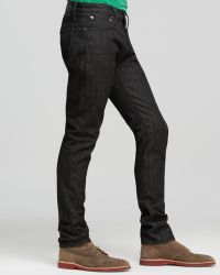Jack Spade - Jeans - Selvage Slim Fit In Black - Lyst