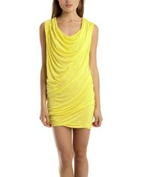 Yigal Azrouël Viscose Dress In Acacia yellow - Lyst