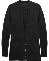 J.Crew Collection Cashmere Cardigan - Lyst
