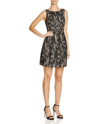 Mystic - Fit And Flare Lace Dress - Lyst