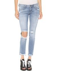 Siwy Hannah Distressed Jeans Addicting - Lyst