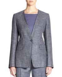 Max Mara Lampone One-button Jacket - Lyst