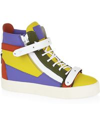 Giuseppe Zanotti Palermo Leather High Top Sneaker - Lyst