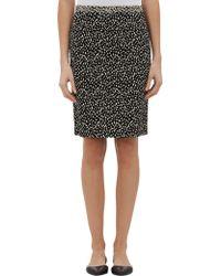 Derek Lam Spot-print Pencil Skirt - Lyst