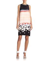 Mother Of Pearl Elia Flora-Print Silk Dress - Lyst