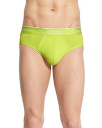 CALVIN KLEIN 205W39NYC - 'air Fx' Low Rise Briefs - Lyst