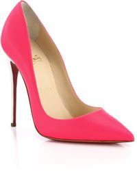 Christian Louboutin So Kate Bicolor Fluorescent Leather Pumps - Lyst
