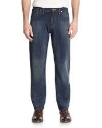 Robert Graham - Orion Straight-leg Jeans - Lyst