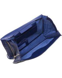 Balenciaga Papier Zip Around Sight Clutch - Lyst