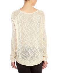 Début - Knit Heart Sweater - Lyst