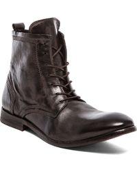 H By Hudson Black Swathmore Boot - Lyst