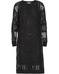 By Malene Birger Gioian Embroidered Organza Dress - Lyst
