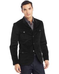 Kenneth Cole Reaction Military Corduroy Blazer - Lyst