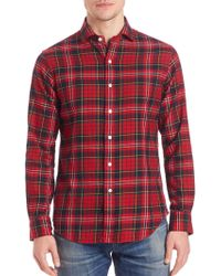 Polo Ralph Lauren | Plaid Cotton Sportshirt | Lyst