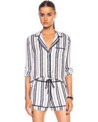 A.L.C. Silk Pajama Set - Lyst