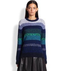 Proenza Schouler Degrade Stripe Sweater - Lyst