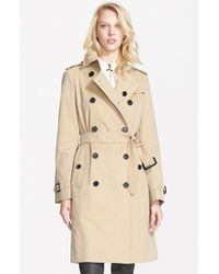 Burberry London Kensington Double-Breasted Trench Coat - Lyst