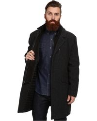 Marc New York By Andrew Marc Gray Holt Coat - Lyst