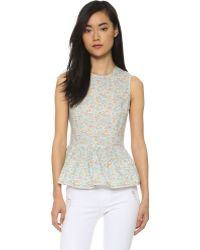 Chinti & Parker | Sleeveless Blouse - Meadow | Lyst
