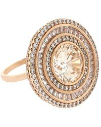 Carat* | Melissa In Padparadscha Cocktail Ring | Lyst