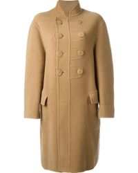 Jean Paul Gaultier - Double Breasted Coat - Lyst