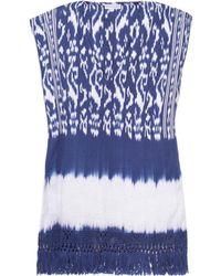 Sensi Studio - Macaba Inca-Pattern Cotton Kaftan - Lyst