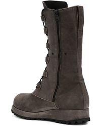Alexandre Plokhov - Lace-up Combat Boots - Lyst