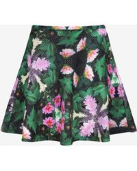 Ted Baker Dollia Kaleidoscope Floral Skirt - Lyst