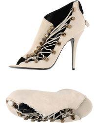 Balmain Sandals beige - Lyst