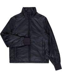 Paul Smith | Men's Navy Lightweight Wadded Harrington Jacket | Lyst