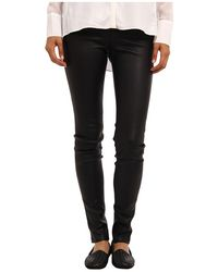 Helmut Lang Leather Legging - Lyst