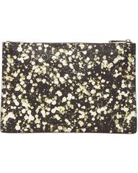 Givenchy Medium Baby'S Breath Printed Canvas Pouch multicolor - Lyst