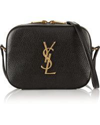 Saint Laurent Monogramme Camera Leather Shoulder Bag - Lyst