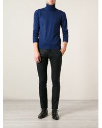 Ermanno Scervino Rollneck Sweater - Lyst