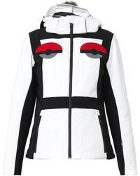 Fendi Creatures Furtrimmed Hooded Ski Jacket - Lyst