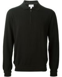 Brioni Zip Front Sweater - Lyst
